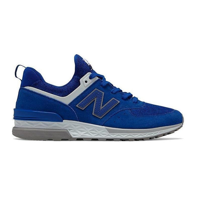 Mens NEW BALANCE 574 bluee Trainers MS574CD