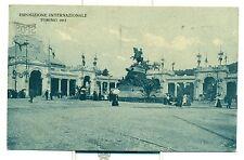 """ESPOSIZIONE INTERNAZ. TORINO 1911 """"Ingresso dal Corso Raffaello"""" viaggiata"""