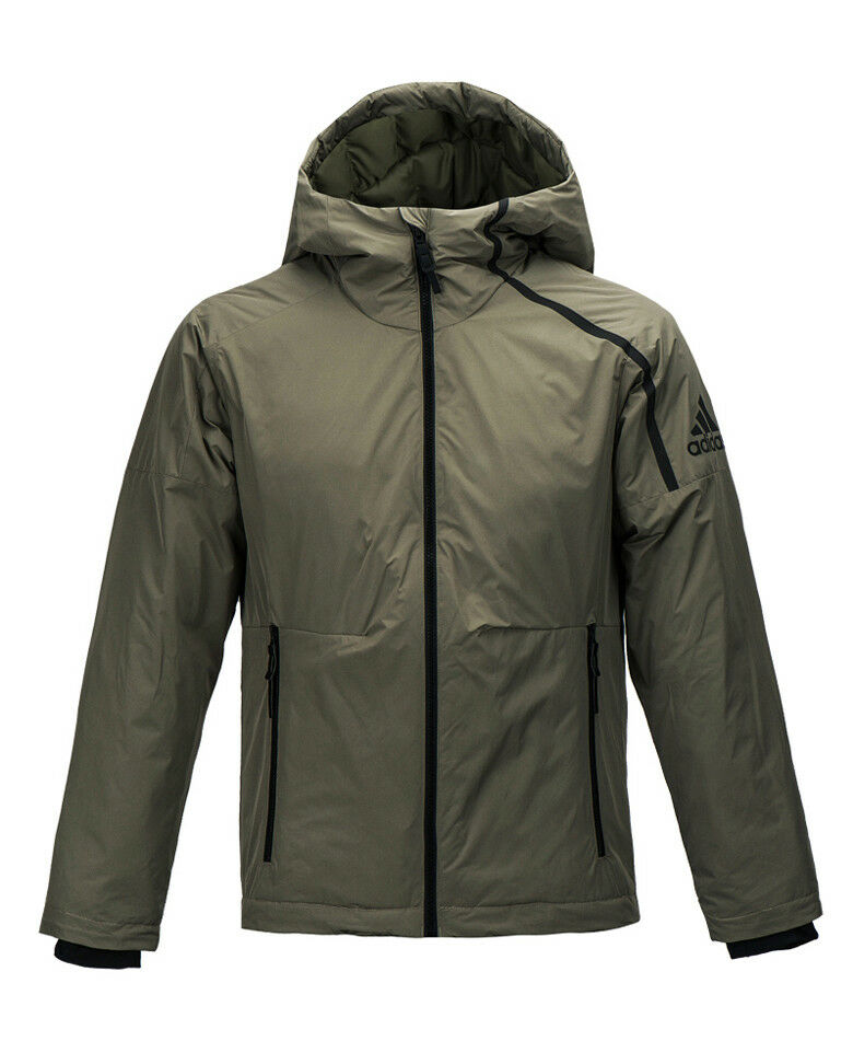 Adidas Z.N.E Outer Down Jacket (BQ6799) Manteau d hiver à capuche et rembourré