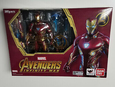 S.H.Figuarts SHF Avengers Infinity War IRON MAN MK50 /& Tamasni Stage Deluxe Box