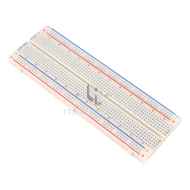 MB-102 830 Solderless Breadboard Tie Points 2 buses Test Circuit for Arduino R3