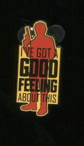 Star-Wars-SOLO-Card-Set-Han-I-039-ve-Got-a-Good-Feeling-About-This-Disney-Pin-127755