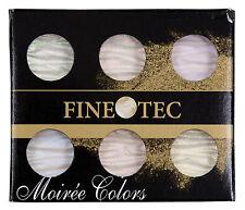 FINETEC MO 600 MO600 ARTIST MICA WATERCOLOR PAINT IRIDESCENT 6-COLOR SET