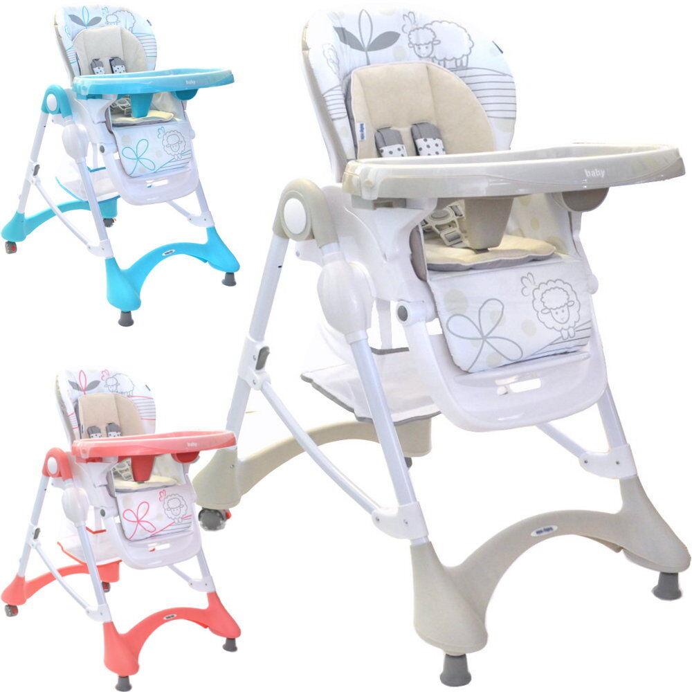 Bébé Enfants Chaise Haute Sheep réglable en hauteur, pliable, Multifonctionnel NEUF