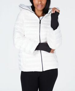 Calvin-Klein-Womens-Down-Filled-Hooded-Puffer-Jacket-White