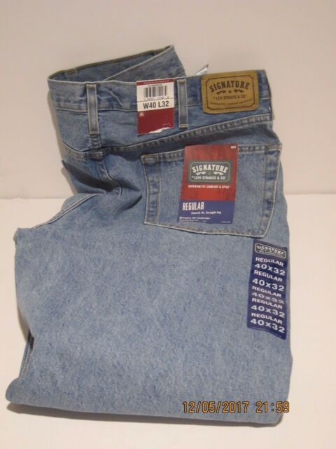 2ce7c8ea LEVI'S Mens Signature Regular Fit Jeans Levi Strauss & Co, FREE SHIP NEW ...