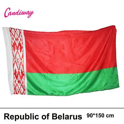 Byelorussia Historic Belarus Flag Key Chain NEW
