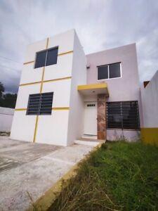 EN VENTA, Casa en privada cerca de Av Colosio, Campeche