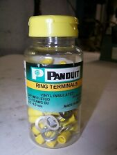 Non-Insulated 3//8-Inch Stud 500-Pack Panduit P10-38R-D Ring Terminal 14-10 AWG