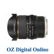 New Samyang 8mm f/3.5 Fish-eye CS Lens for Canon + Hood