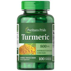 Turmeric-800mg-Antioxidant-Naturally-Contains-Curcumin-100-CAPS-Puritan-039-s-Pride