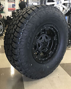 17 quot XD Rockstar 3 Black Wheels 5x5 5 Dodge RAM 1500 35