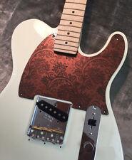 Faux Copper Paisley Custom Bakelite Pickguard Fender® Telecaster® Esquire® style