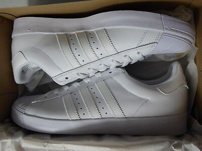$80.00 NEW- ADIDAS SUPERSTAR MEN/'S VULC ADV SHOES WHITE//SILVER STYLE: F37463
