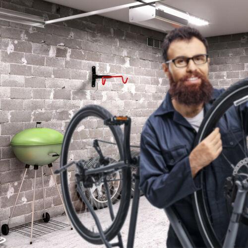 2 x Fahrrad Wandhalterung Fahrradhalter Fahrradaufhängung Fahrradhalterung Wand