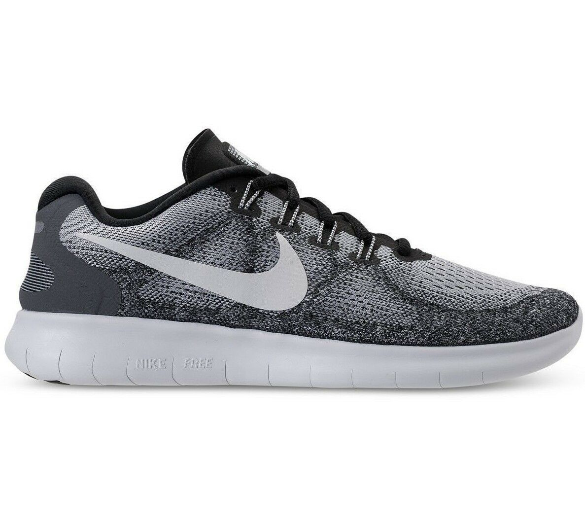 Nike Free RN 2017 Wolf Grey Off White Running Running Running Mens shoes 880840-002 25fc2a