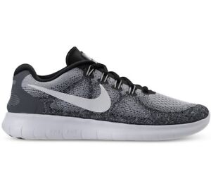 Details about Nike Free RN 2017 Wolf Grey Off White Running Womens Shoes 880840 002