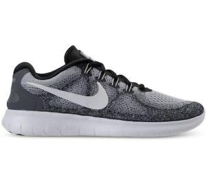 Nike Free RN 2017 Women's Running Shoes, Wolf GreyDark Grey