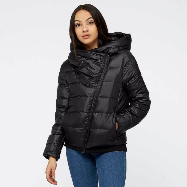 Details about NEW NIKE DOWN FILL WINTER WARM BLACK COAT PUFFER JACKET WOMEN'S SIZE MEDIUM