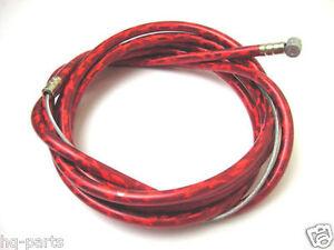 "MTB Brake Cable Double Sheath Housing 60/""x68/"" WHITE"