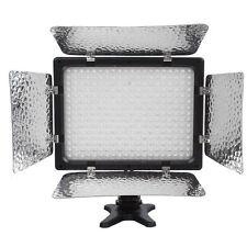 W300 Video Photography Camera Light Lamp Panel 300LEDs 6000K Manel Mount +Filter