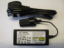 240v mains to 12v DC cigarette lighter voltage converter power adapter 3A (36W)