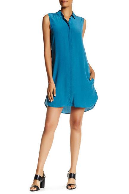 NEW Equipment Lanie Sleeveless Silk Mini Dress in Amulet - Size S