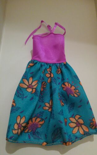 FASHIONISTA  PURPLE  /& GREEN Dress for new TALL fashionista BARBIE body