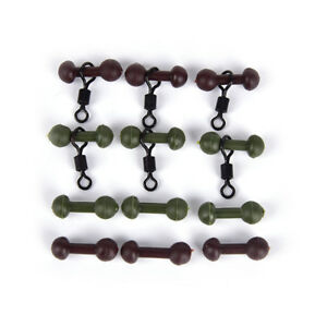 30X-Carpe-peche-heli-chod-perles-pivote-les-perles-de-caoutchouc-9H