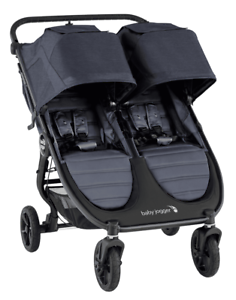 Baby-Jogger-City-Mini-GT2-Twin-Baby-Double-Stroller-Carbon-NEW-2020
