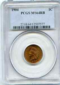 1904-INDIAN-CENT-PCGS-MS-64-RED-BROWN-LOTS-OF-RED-NICE-COIN