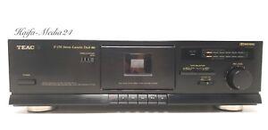 TEAC-v370-HiFi-estereo-single-cassette-deck-fabricada-12-meses-gewahrl