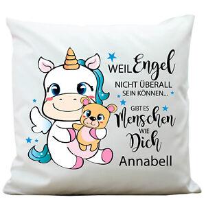 deco-Coussin-licorne-nom-de-la-demande-ANGE-kp308-amis-Pillow-polyester-Licorne