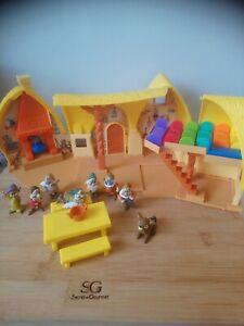 Figurine Maison des schtroumpfs musicale Disney Simba vintage