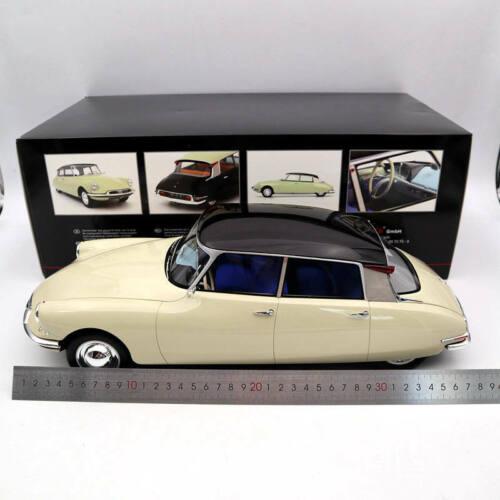 1:12 Premium ClassiXXs 40045 Citroën DS 19 Type I 1955 Light Beige// Dark Plum
