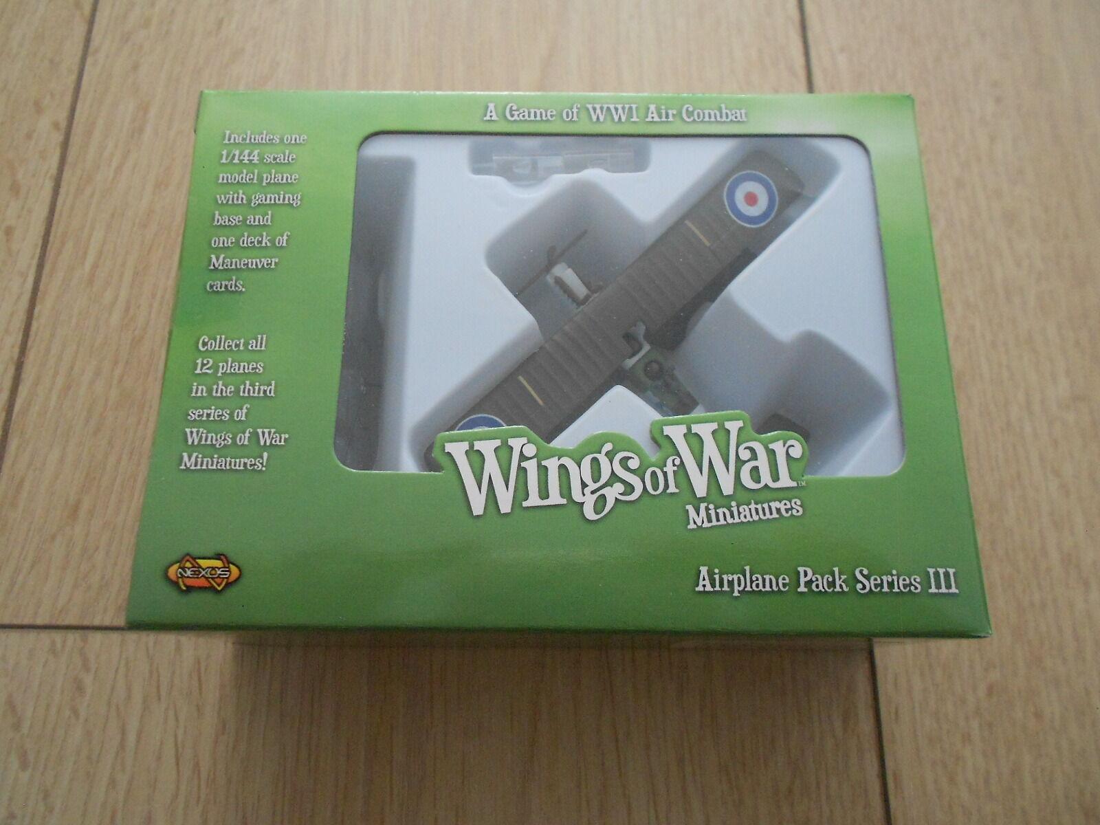Wings Of War - WWI - Raf R.e.8 - Ferguson & Fry - Series III Miniatures Wow125-b