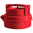 Stuffed Hamburger Burger Press Mould Plastic Novelty Compact Kitchen Tool Red