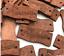 5 botones madera hecho a mano con amor 2 agujeros de costura Craft 30 mm Etiquetas vendedor del Reino Unido