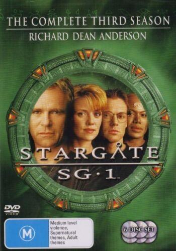 1 of 1 - STARGATE SG-1 SG1 : SEASON 3 : NEW DVD