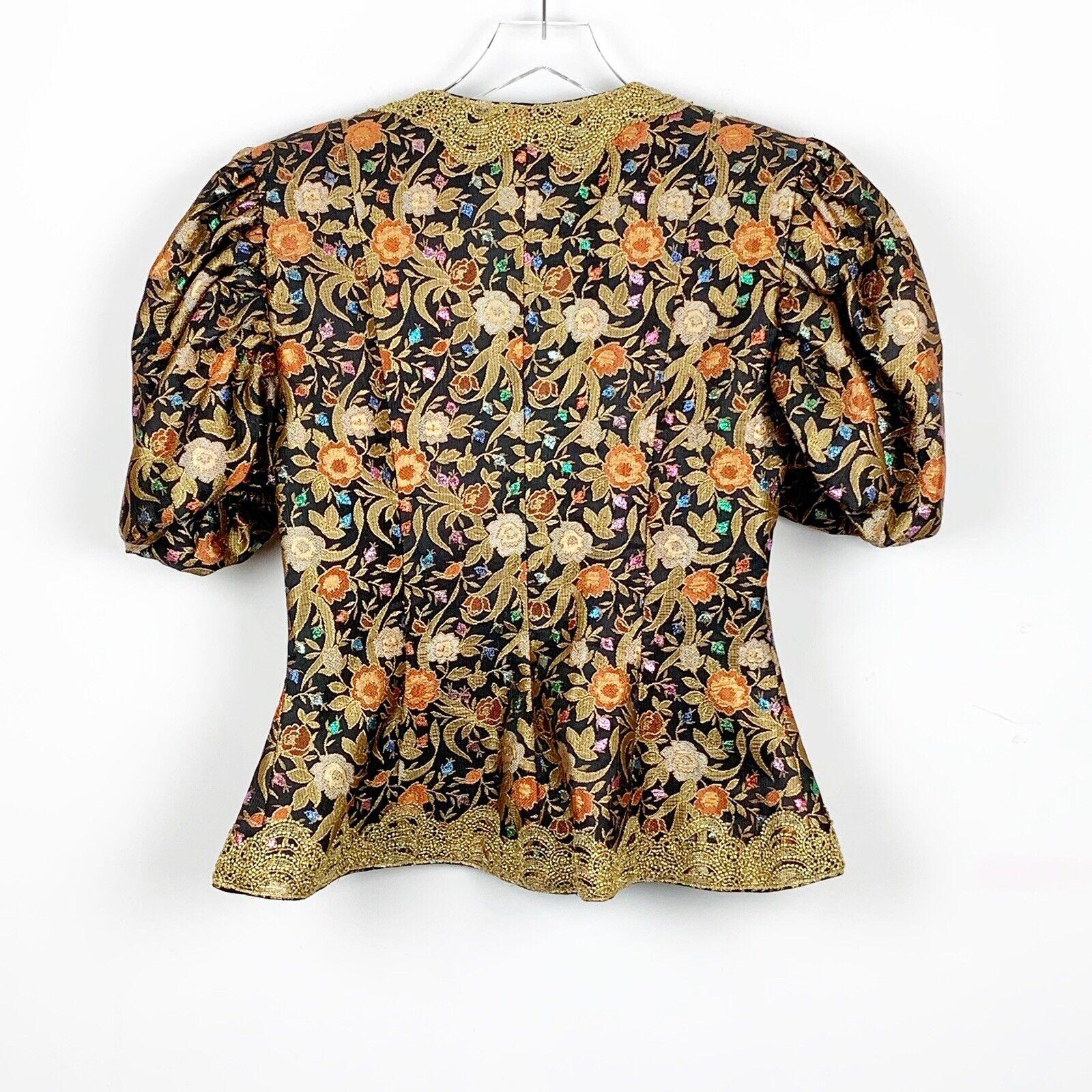 Eugene Alexander Dress Jacket Short Sleeve Jewele… - image 2