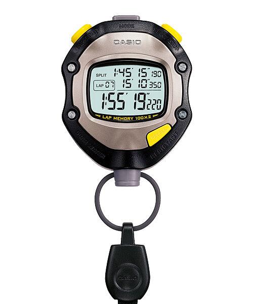 HS-70W-1D Casio Digital Stopwatch 50m Running Timer Brand-New