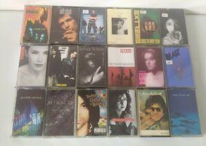 Cassette Tape Bundle Job lot 80s 90s Pop indie alternative X 18 collection #2
