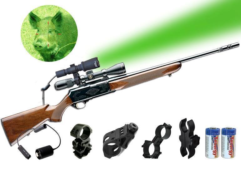Orion Projoator H30 Led verde Hog Hunting Luz W   opcional Rifle Mount Kit
