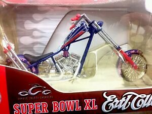 Ertl-Collectibles-NFL-Superbowl-XL-40-Die-Cast-OCC-Chopper-Pittsburgh-Steelers