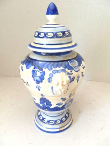Vaso Anfora Farmacista Erborista in Ceramica Made in ITALY MALVA 30 CM