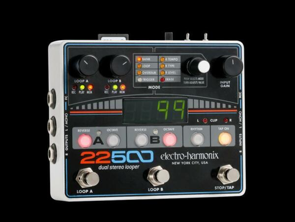 electro harmonix ehx 22500 dual stereo looper guitar pedal for sale online ebay. Black Bedroom Furniture Sets. Home Design Ideas