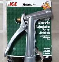 Ace 72544 Water Nozzle Adjustable Spray, Free Shipping