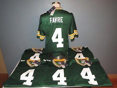 Brett Favre #4 Green Bay Packers NFL Jersey S, M, L, XL, 2XL, 3XL, 4XL, 5XL *NEW | eBay