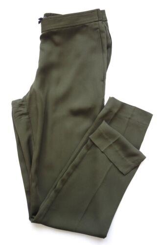 Georgette Modern in S Estate Termin Pantaloni Designer Theory seta Taglia Pantaloni 5TxS0w5