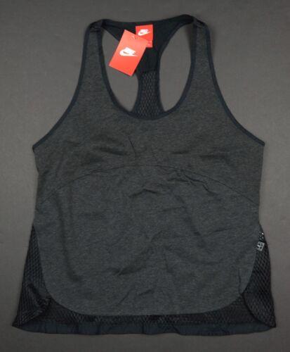 032 Tennis camisa Women's L Mesh 811928 91209487433 Tank Nikecourt gris negro Top Lg Nike v4tpqt